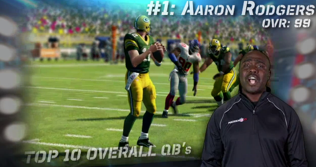 best qbs in Madden 13