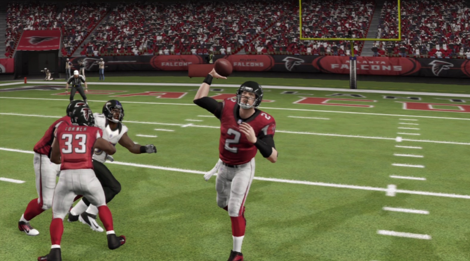 Matt Ryan completed this pass.  You might not be so lucky.