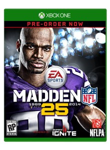 xbox one cover madden 25