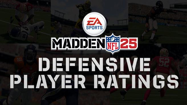 madden 25 defensive player ratings