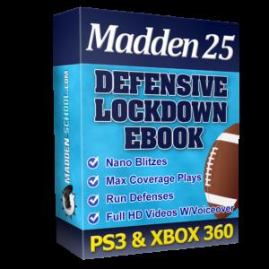 Madden 25 defensive lockdown ebook