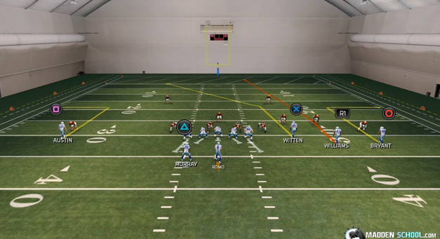 madden 25 deep out routes