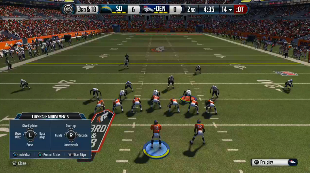New Madden NFL 15 Pre-Snap Defensive Controls - Madden School
