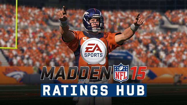 madden 15 ratings