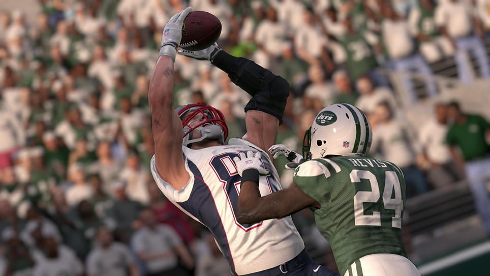 madden 16 gronk catch