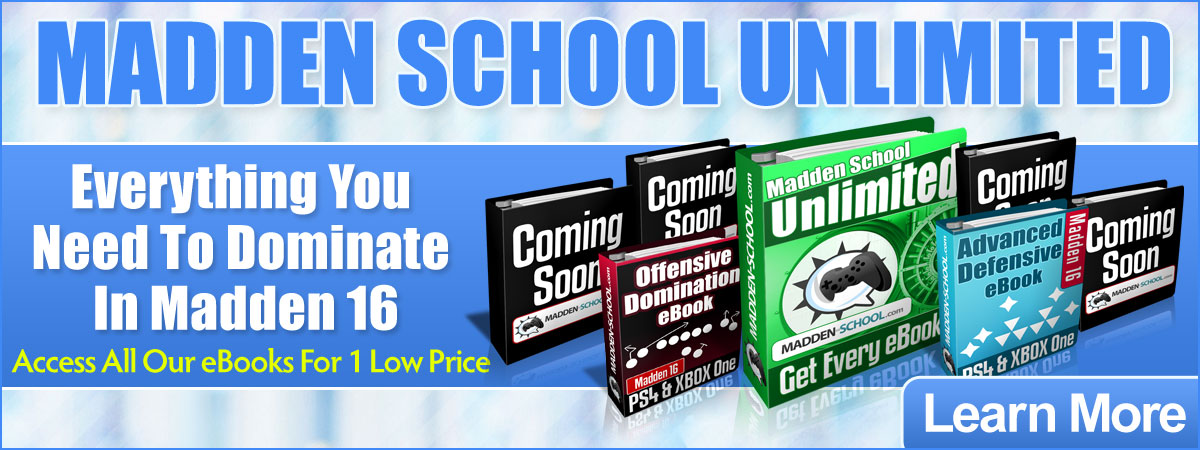 Madden School Unlimted Sale