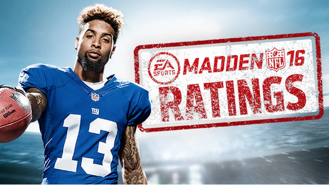 Madden 16 Player Ratings Broken Down By Team - Madden School