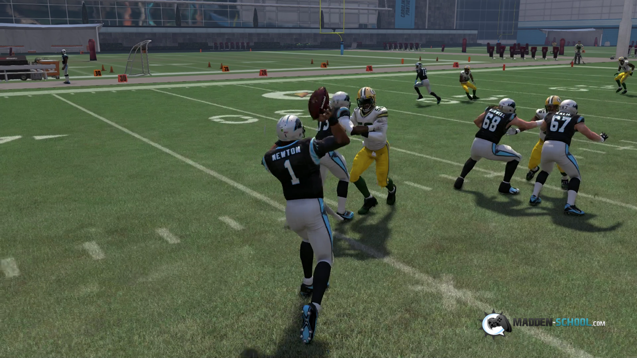 Madden 16 Strong Close WR Out #2
