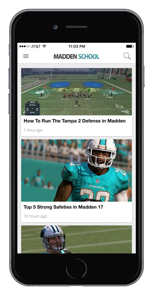Madden 17 app