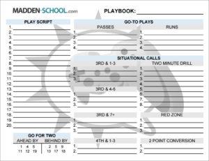 madden 17 play call offense